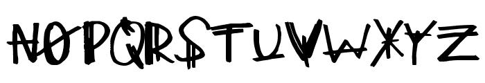 MajorClue Font UPPERCASE