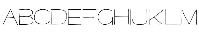 MajorKong-Regular Font UPPERCASE