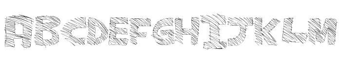 MajorSketchy Font UPPERCASE