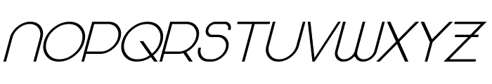 Majoram Sans Bold Italic Font UPPERCASE