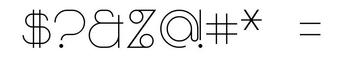 Majoram Sans Font OTHER CHARS