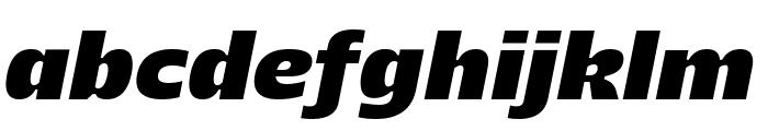 Majoris Italic Font LOWERCASE