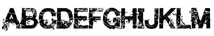 Make them SuffeR Regular Font UPPERCASE