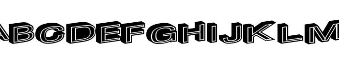 MakeImpact Font LOWERCASE