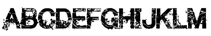MakethemSuffeR-Regular Font UPPERCASE