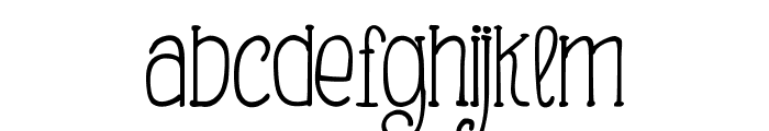 Making Lettering Tall_demo Font LOWERCASE