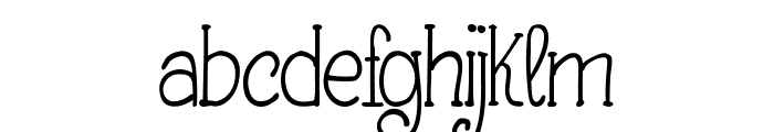 Making Lettering_DEMO Font LOWERCASE
