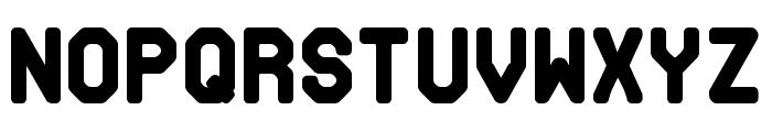 Makisupa Font LOWERCASE