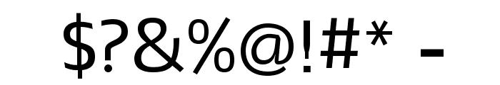 Mako Font OTHER CHARS