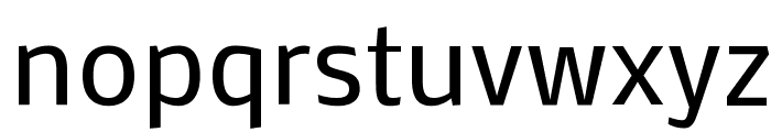 Mako Font LOWERCASE