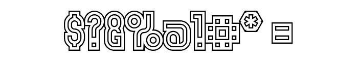 MakushkaQuadriga Font OTHER CHARS