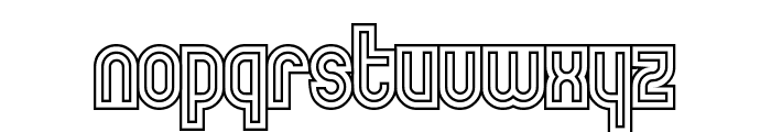 MakushkaQuadriga Font LOWERCASE