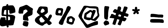 Mala Font OTHER CHARS