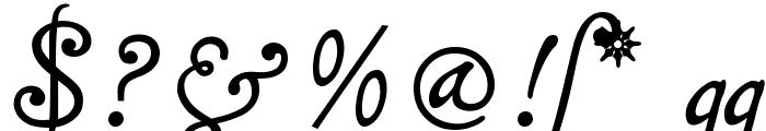 MalaTestaCK Font OTHER CHARS