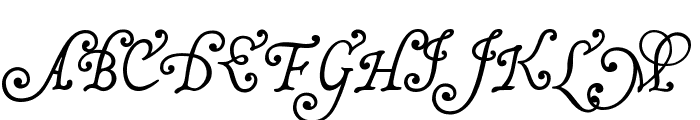 MalaTestaCK Font UPPERCASE
