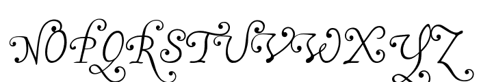 MalaTestaN Font UPPERCASE