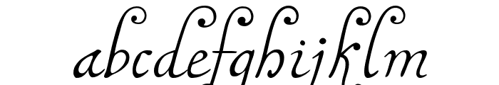 MalaTestaN Font LOWERCASE