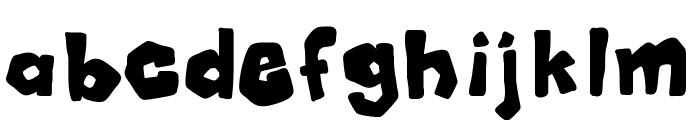 Mala Font LOWERCASE