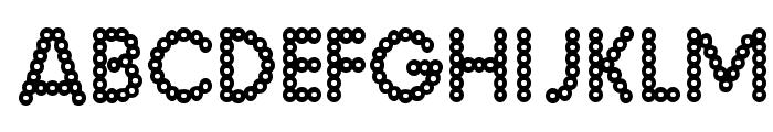 Malache Crunch Font UPPERCASE