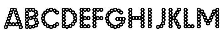 Malache Crunch Font LOWERCASE