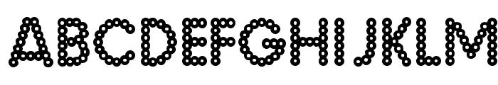 MalacheCrunch-Regular Font UPPERCASE