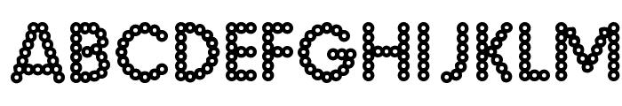 MalacheCrunch-Regular Font LOWERCASE