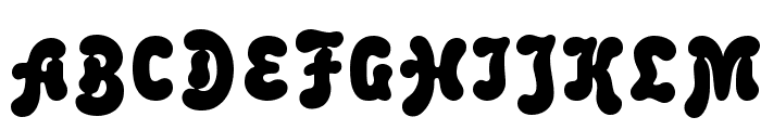 Malahit Bold Font UPPERCASE
