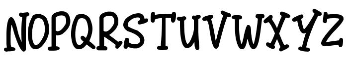 Malarky Font LOWERCASE