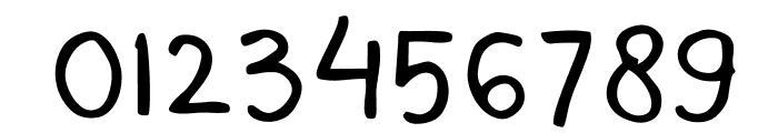 Mala's Handwriting Font OTHER CHARS