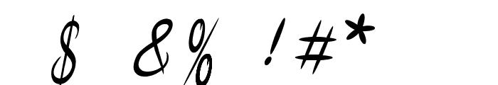Malaya  Regular Font OTHER CHARS