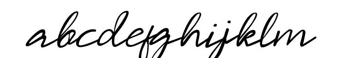 Malaya  Regular Font LOWERCASE