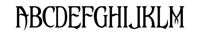 Maleficio Font UPPERCASE