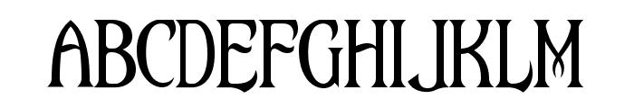 Maleficio Font LOWERCASE