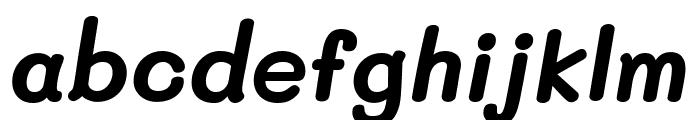 Mali Bold Italic Font LOWERCASE