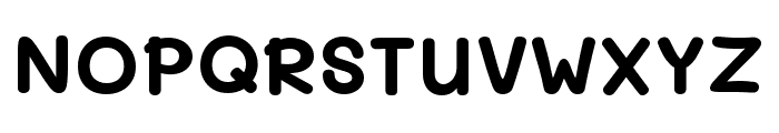 Mali Bold Font UPPERCASE