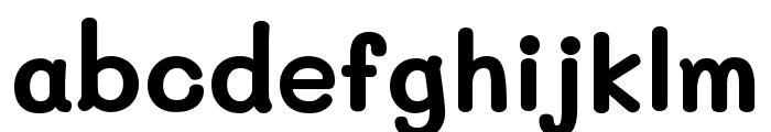 Mali Bold Font LOWERCASE