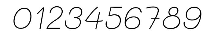 Mali ExtraLight Italic Font OTHER CHARS