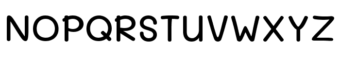 Mali Medium Font UPPERCASE