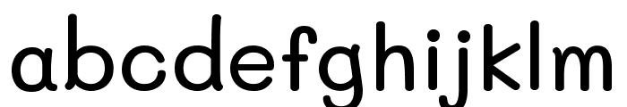 Mali Medium Font LOWERCASE