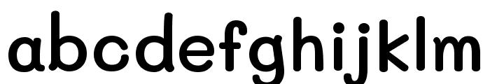 Mali SemiBold Font LOWERCASE