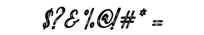 MalindaScript Font OTHER CHARS