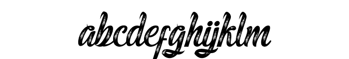MalindaScript Font LOWERCASE
