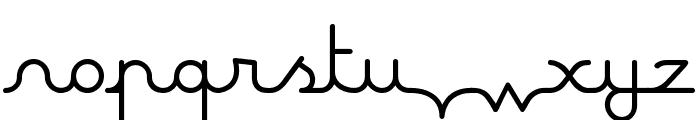 Maline Font LOWERCASE