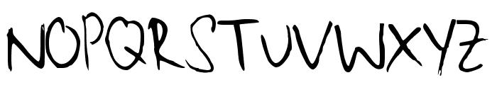 Maliniothers Light Regular Font UPPERCASE