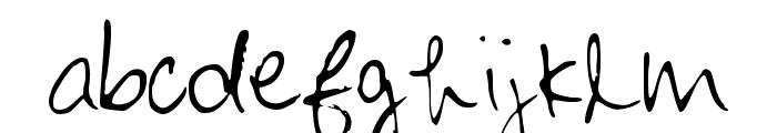 Maliniothers Light Regular Font LOWERCASE