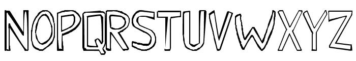 Malkmus_erc_001 Font UPPERCASE