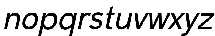 Malter Sans Italic Demo Font LOWERCASE