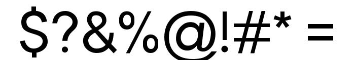 Malter Sans Regular Demo Font OTHER CHARS