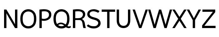 Malter Sans Regular Demo Font UPPERCASE