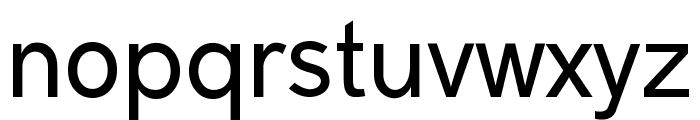 Malter Sans Regular Demo Font LOWERCASE